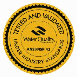 Water Quality Association Gold Seal